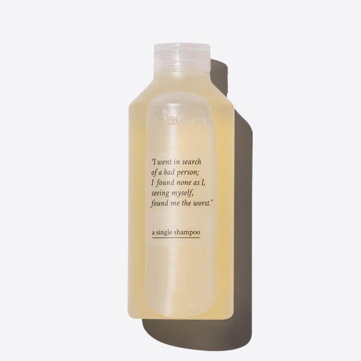 A Simple Shampoo